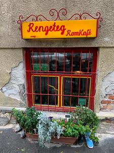 Rengeteg RomKafé, Budapest.  Excellent hot chocolate!
