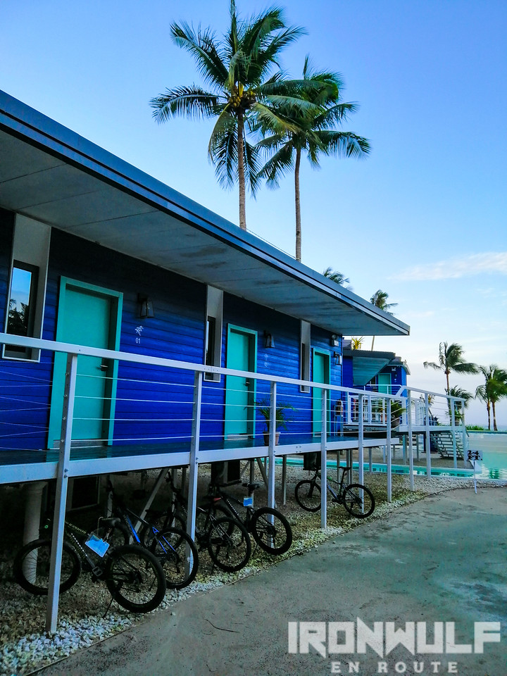 Container type rooms and bikes for rent