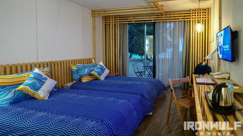 Deluxe Ocean View Twin Bed Room