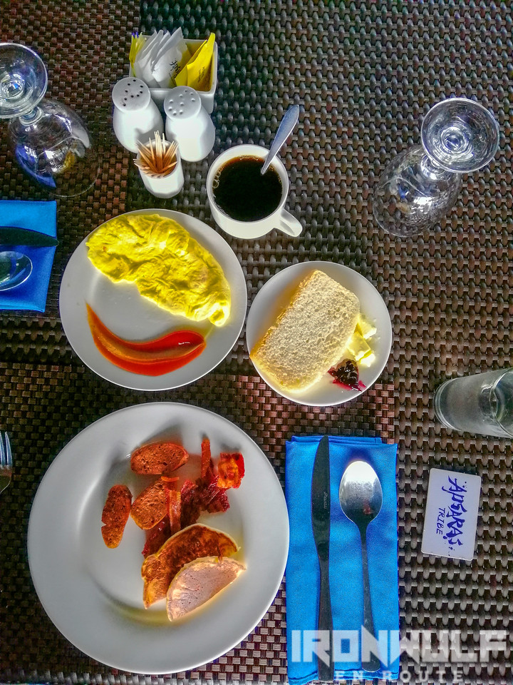 My breakfast spread