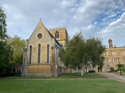 Jesus College (chapel), Cambridge University.