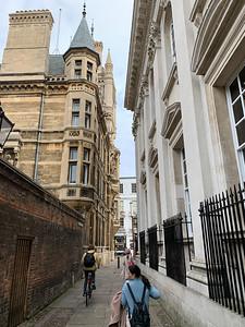 Narrow lanes, Cambridge UK.
