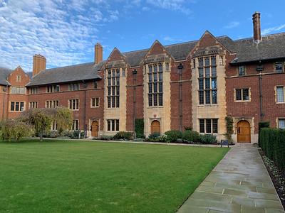 Jesus College, Cambridge University.