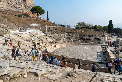 The theater of Dionisys (aka the old theater) next to the Acropolis.