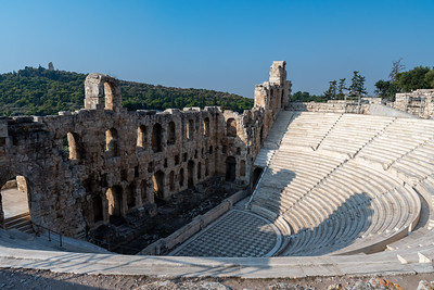 The Odeon of Herodes Atticus, Acropolis, Athens.