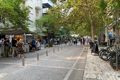 Dionysis street, Athens.