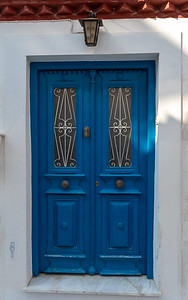 Interesting door in Hydra, Greece.