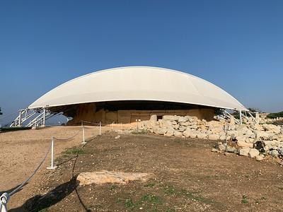 Hagar Qim temple, near Valleta, Malta.