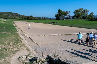 The stadium at ancient Olympia.