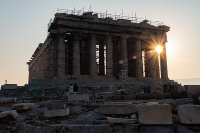 The Parthenon in morning light - at the Acropolis, Athens.