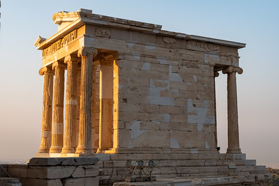 Temple of Athena Nike in early morning light; Acropolis, Athens.