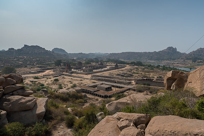 Vitthala Temple, viewed from above. Hampi.