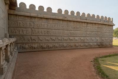 Hazara Rama temple. Hampi.