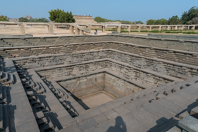 Stepwell at Royal Enclosure, Hampi.