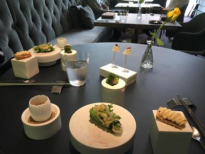 A fabulous meal at Jungstix Café in Seoul.