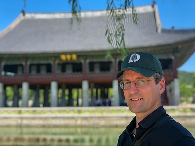 David at Gyeongbokgung palace. (Seoul, South Korea)