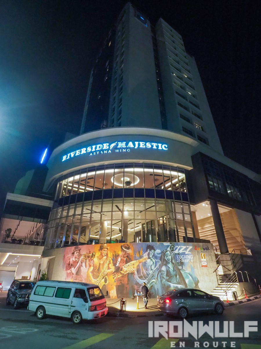 Facade of Riverside Majestic Astana Wing