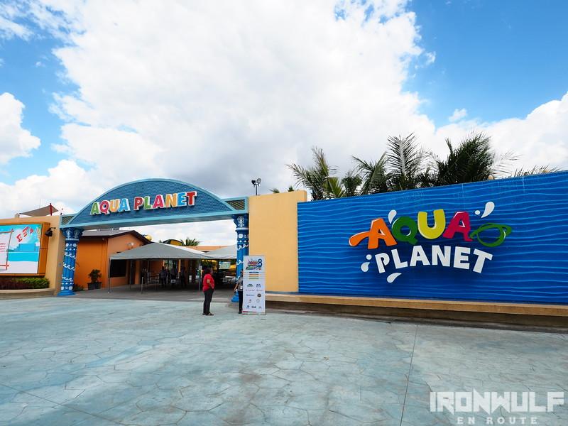 Aqua Planet entrance