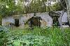 Abandoned building at Halawa Park, Molokai