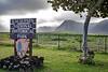 Kalaupapa National Historical Park marker near airport