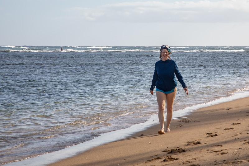 Laurel at Murphy's Beach, Molokai