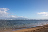 Murphy's Beach, Molokai, with Lanai in background