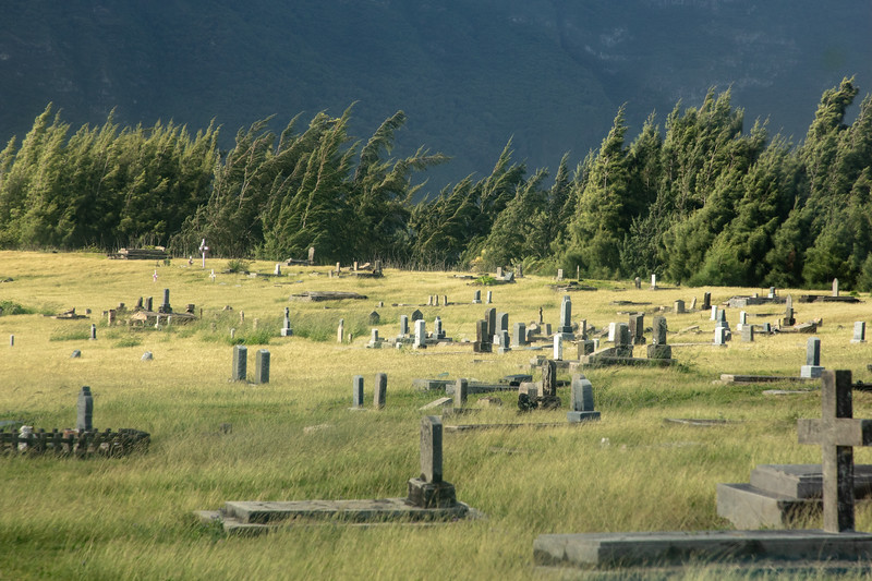 Graves at Kalaupapa National Historical Park