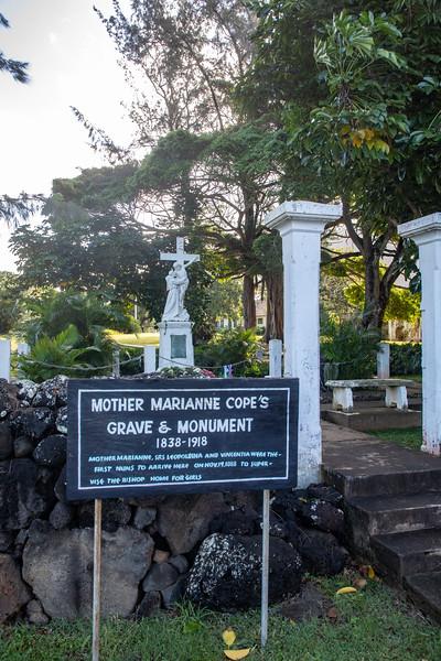 At Kalaupapa National Historical Park