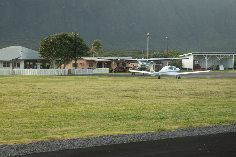 Airport at Kalaupapa National Historical Park