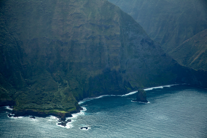 Molokai coastal cliffs