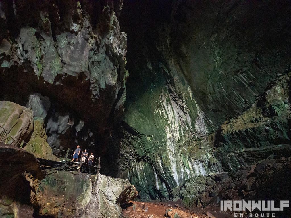 The huge bat chamber