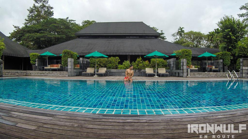 15-meter lap pool