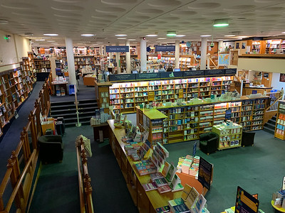 Blackwell's bookstore, Oxford.