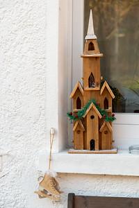 An interesting window display in Sulzau, Germany, original home of Franz Kotz.