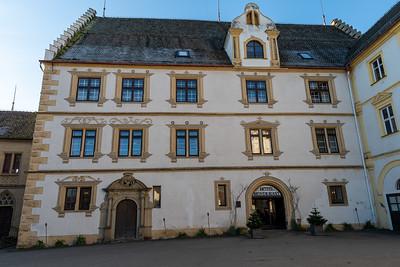 Schloss Weitenburg, in Sulzau, Germany, original home of Franz Kotz.