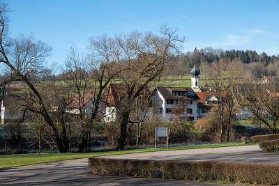 The village of Sulzau, Germany, where Franz Kotz once lived.