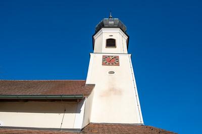 The church in Sulzau, Germany, original home of Franz Kotz.
