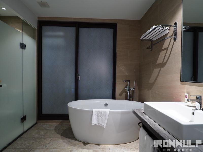 Bath and wash area