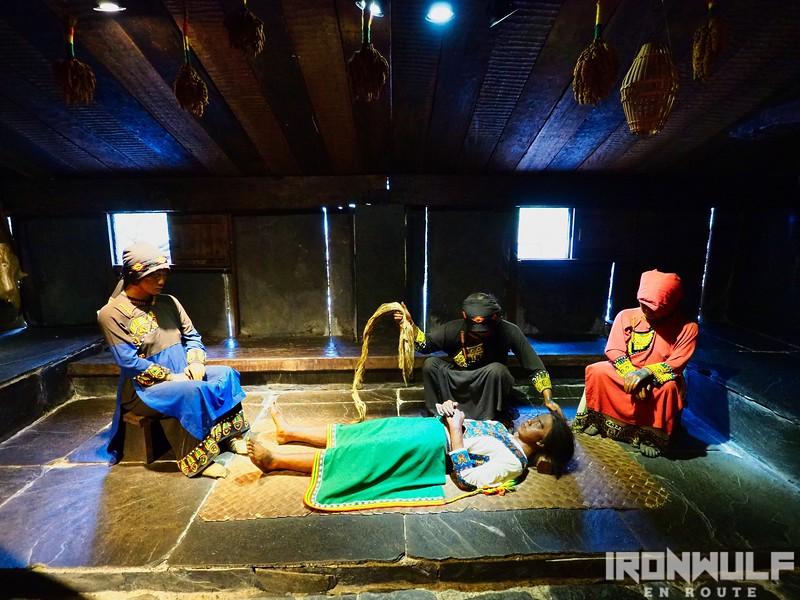 The Kulano Village uses sorcery to cure illness