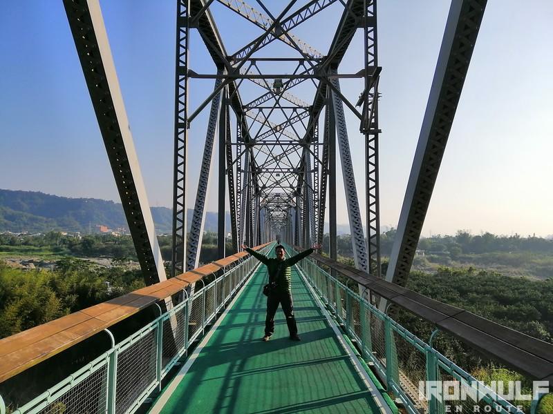 The Huliang Steel Bridge built in 1908