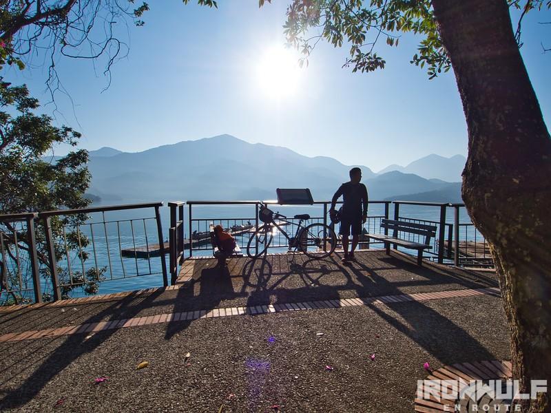 A Short Scenic Bike Ride Along Sun Moon Lake