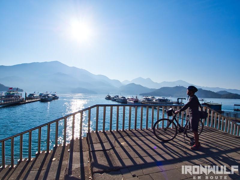 Biking Sun Moon Lake
