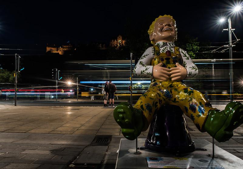 """Flower of Scotland"" Oor Wullie on Castle Street - Edinburgh (August 2019)"