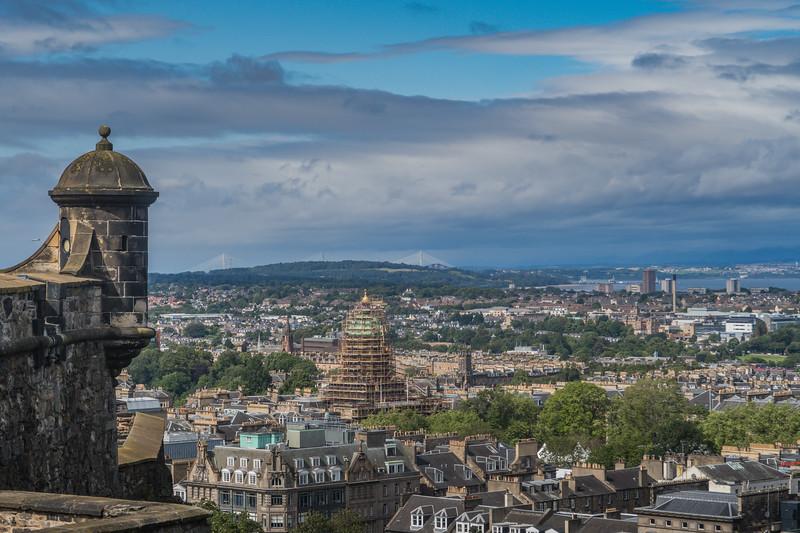 Edinburgh Castle - Edinburgh - Lothian - Scotland (August 2019)