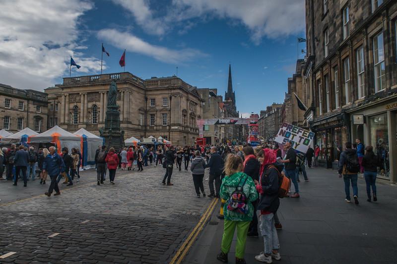 Royal Mile - Edinburgh - Lothian - Scotland (August 2019)