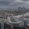 London from the Aqua Shard - 31st Floor - The Shard - London (October 2019)