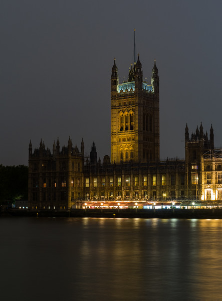Palace of Westminster - River Thames - London (October 2019)