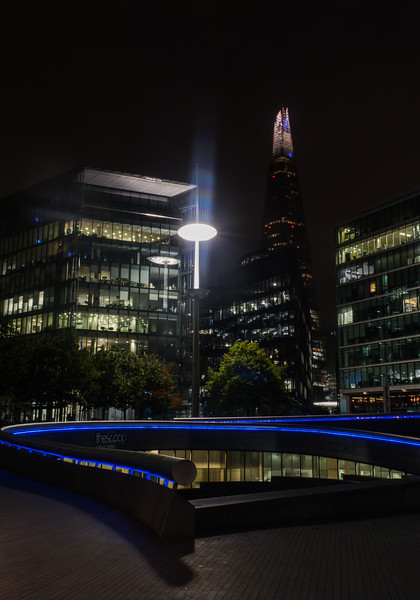 The Shard from the South Bank - London (October 2019)