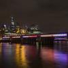 Canon Street Railway Bridge - River Thames - London (October 2019)