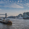 Tower Bridge - HMS Belfast - River Thames - London (December 2019)